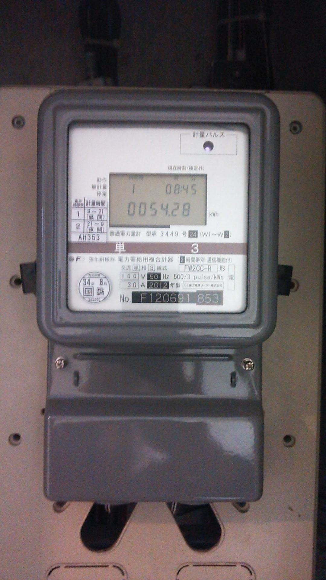 デジタル電力計